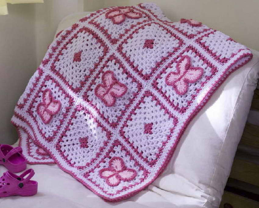 örgü battaniye modelleri açıklamalı